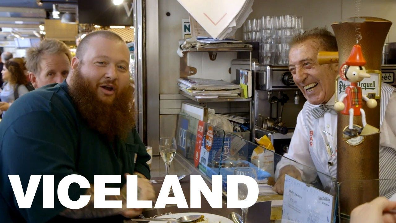 Barcelona Porn Industry action bronson eats at the greatest market in barcelona