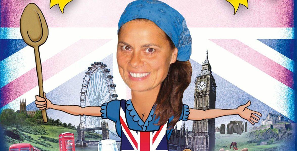"""""""Sarah Wiener in Großbritannien"""" - DVD-Tipp - In England, Schottland, Wales und Nordirland erlebt die Köchin Sarah Wiener nicht nur kulinarische Abenteuer."""