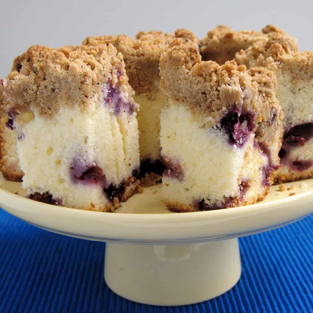 Blueberry Crumb Cake Recipe Coffee cake, Baking