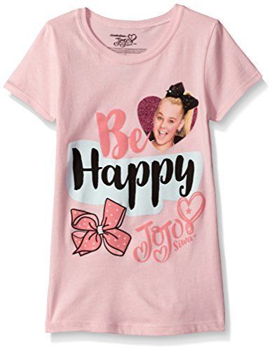 Nickelodeon Little Girls  Jojo Siwa Short Sleeve T-Shirt f8517c367