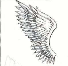 Wings Drawing Google Search Alas De Angeles Dibujos Tatuajes De Alas Dibujo De Alas