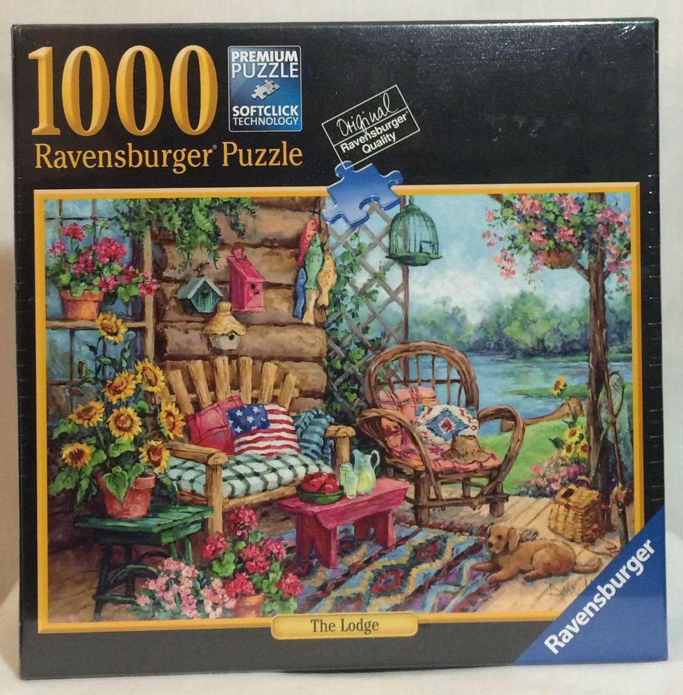ravensburger puzzle quotthe lodgequot 1000 piece jigsaw puzzle