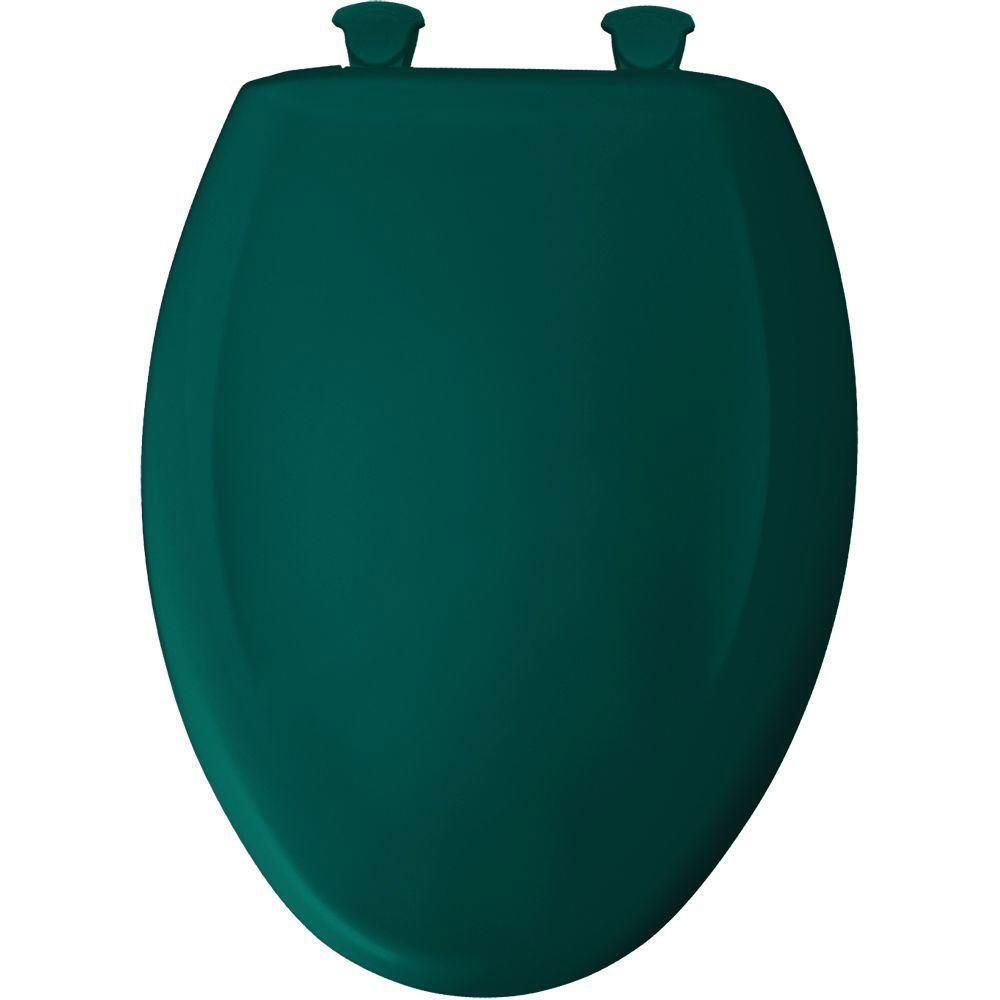 Bemis Slow Close Sta Tite Elongated Closed Front Toilet Seat In