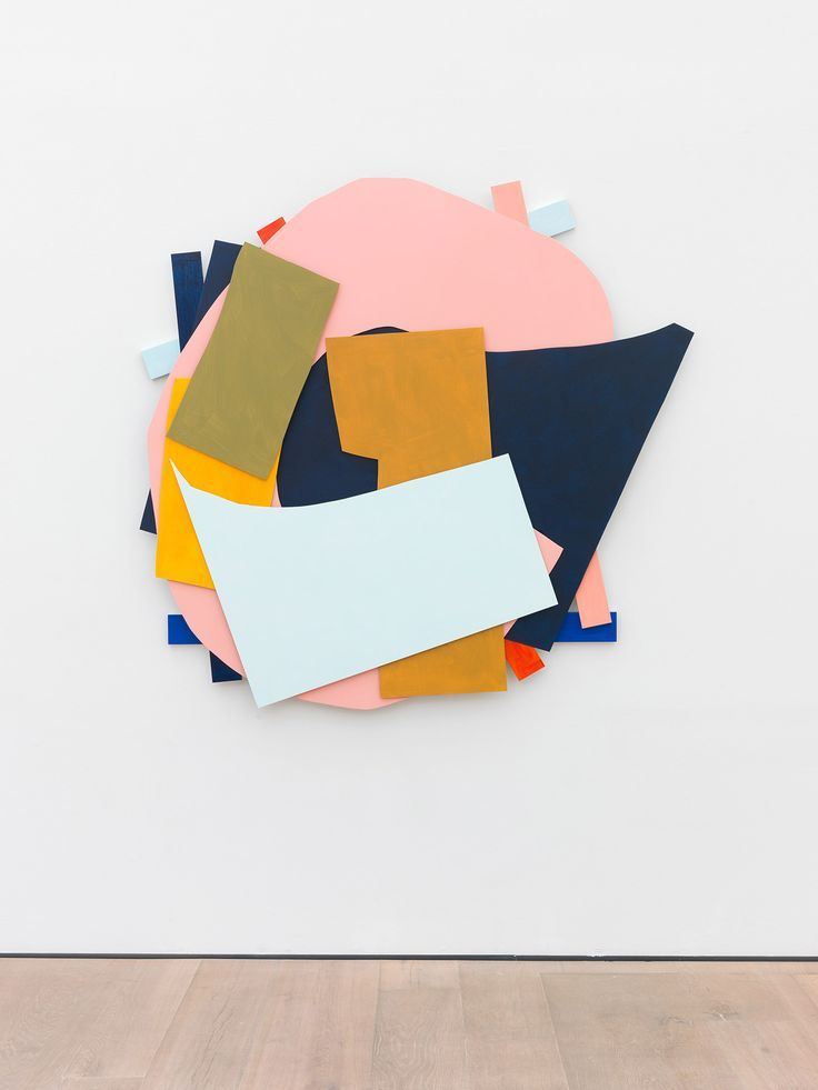 Imi Knoebel's signature abstract 'knife cutting' in primary tones has never felt more relevant. Confident application of strong color and sharp form has played a huge influence on the catwalks for