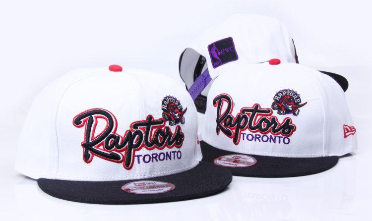 NBA-TORONTO RAPTORS Snapbacks Hats New Era White 9245! Only $8.90USD