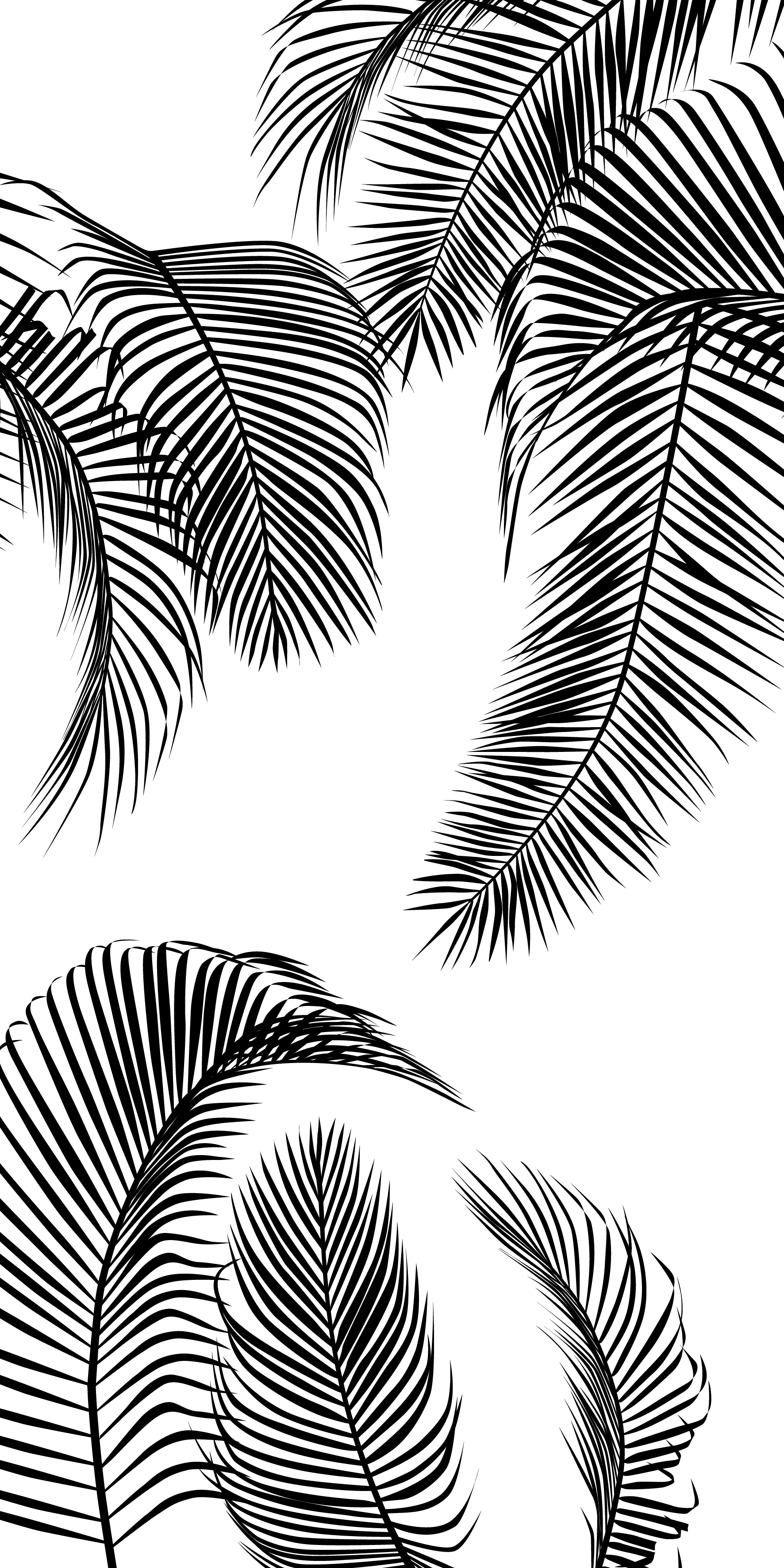 Palm Tree Leaves. Casetify iPhone TropicalVibes