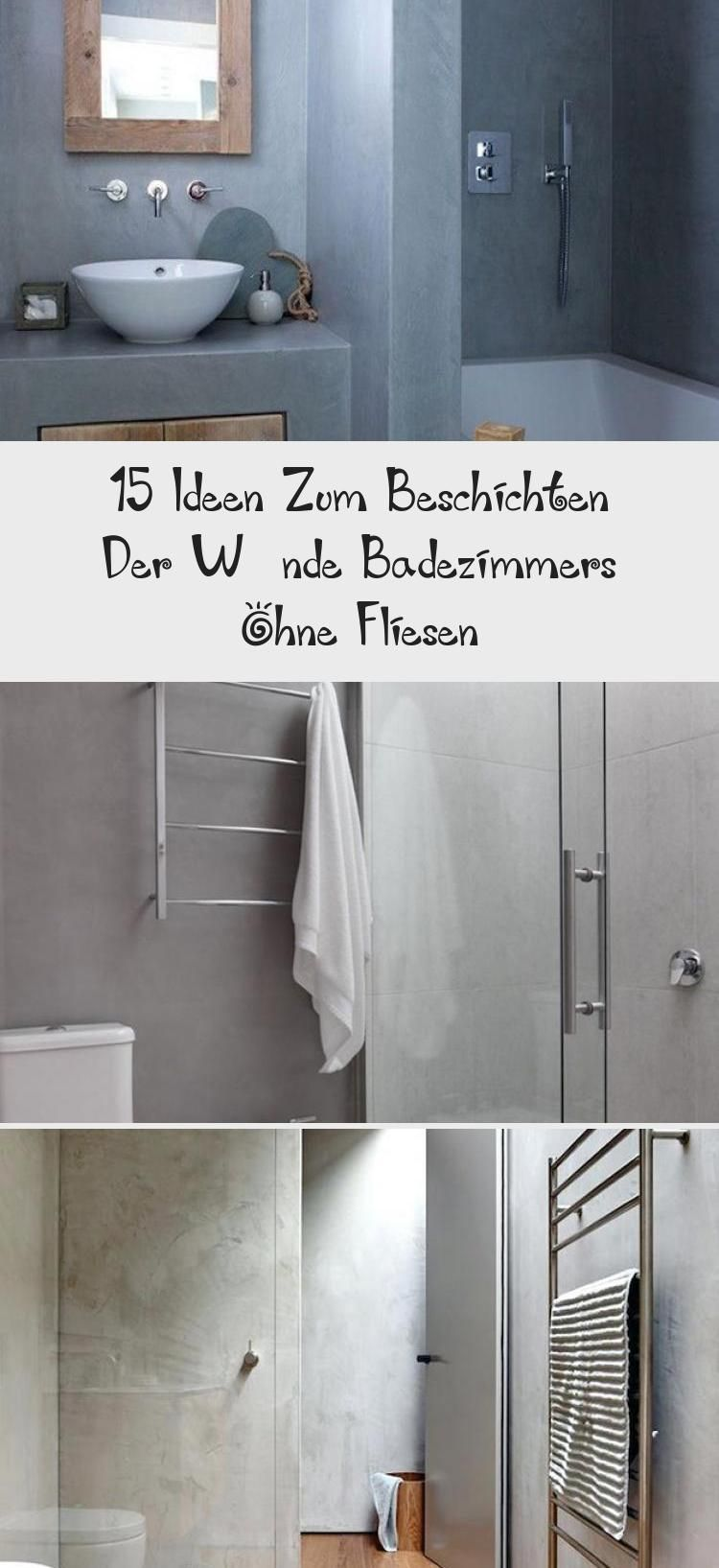 15 Ideen zum Beschichten der Wände Badezimmers ohne Fliesen  #badezimmers #beschichten #fliesen #ideen #wande | Dekoration Blog #bathroominteriorDIY #bathroominteriorTowel #Masterbathroominterior #bathroominteriorBeige #bathroominteriorClassic