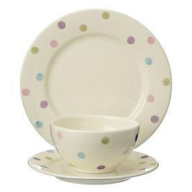 by Sainsbury\u0027s Sorbet Multi-spot Dinner Set - Dinner sets - Dinnerware - Tableware - Kitchen - Home \u0026 garden - Sainsbury\u0027s  sc 1 st  Pinterest & Spotty plates! | Flat-Inspiration | Pinterest | Sainsburys Dinner ...