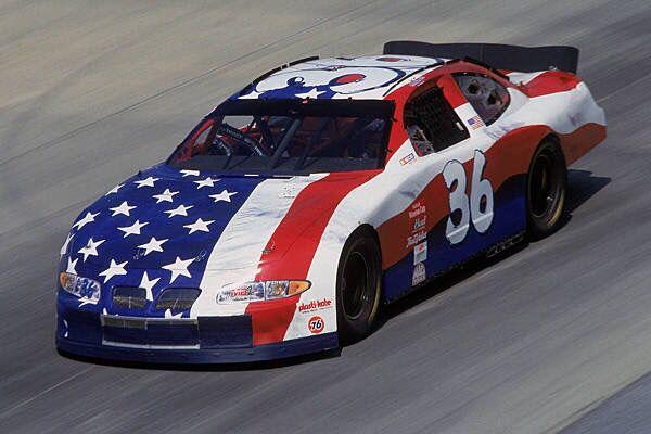 Kenny Schrader Special Paint Scheme Nascar Race Cars Nascar