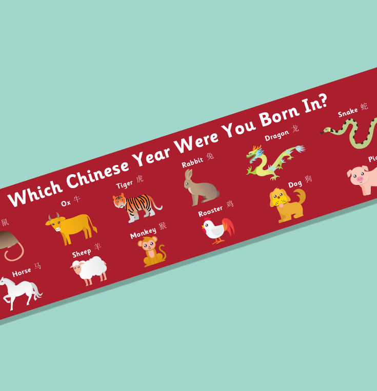 chinese zodiac display banner animal signs display banners chinese zodiac chinese new year