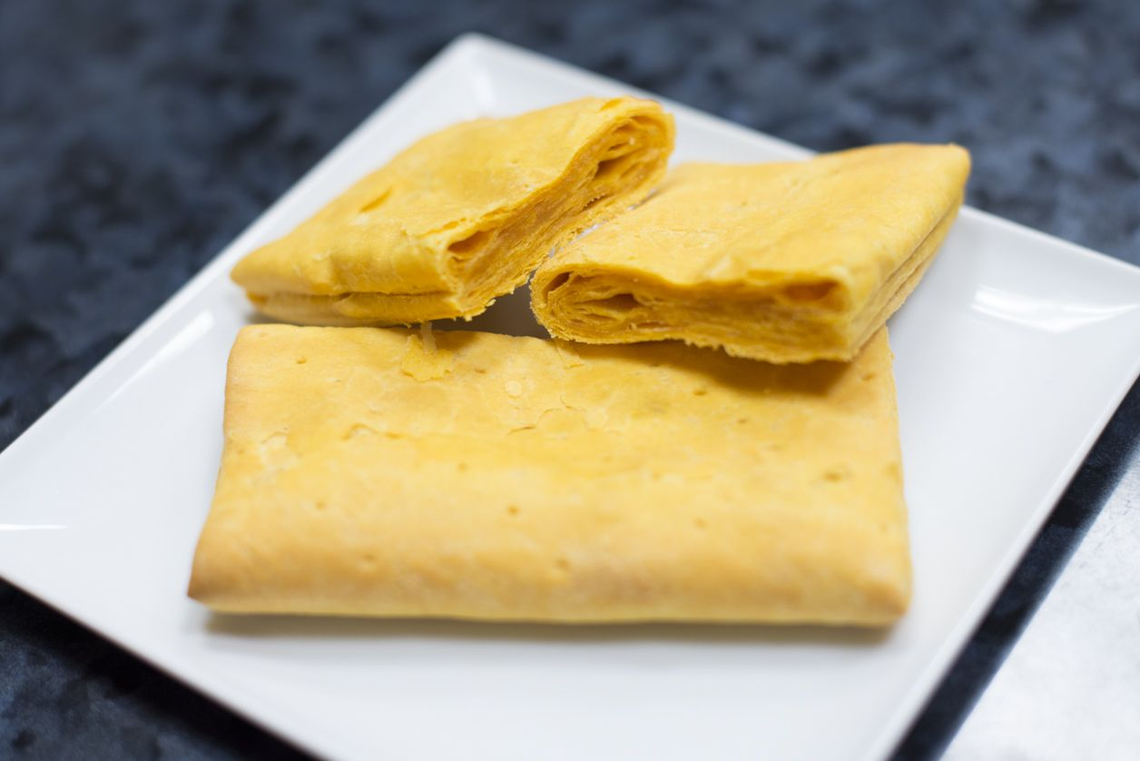 caribbean food delights crust yummy a favorite as a kid and sometimes the favorite part of a