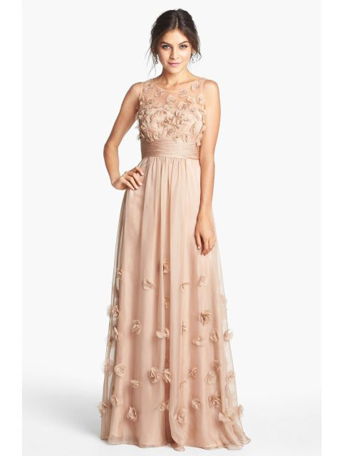 The Best Blush Prom Dresses | Pinterest | Beautiful gowns, Chiffon ...