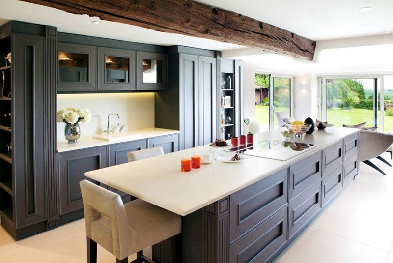 20 Brown Kitchen Cabinet Designs for a Warm, Natural Look ...