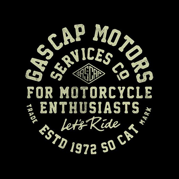 New gascap Motors logo for a tee, SS17 coming soon... stay tuned! www.gascapmotors.com