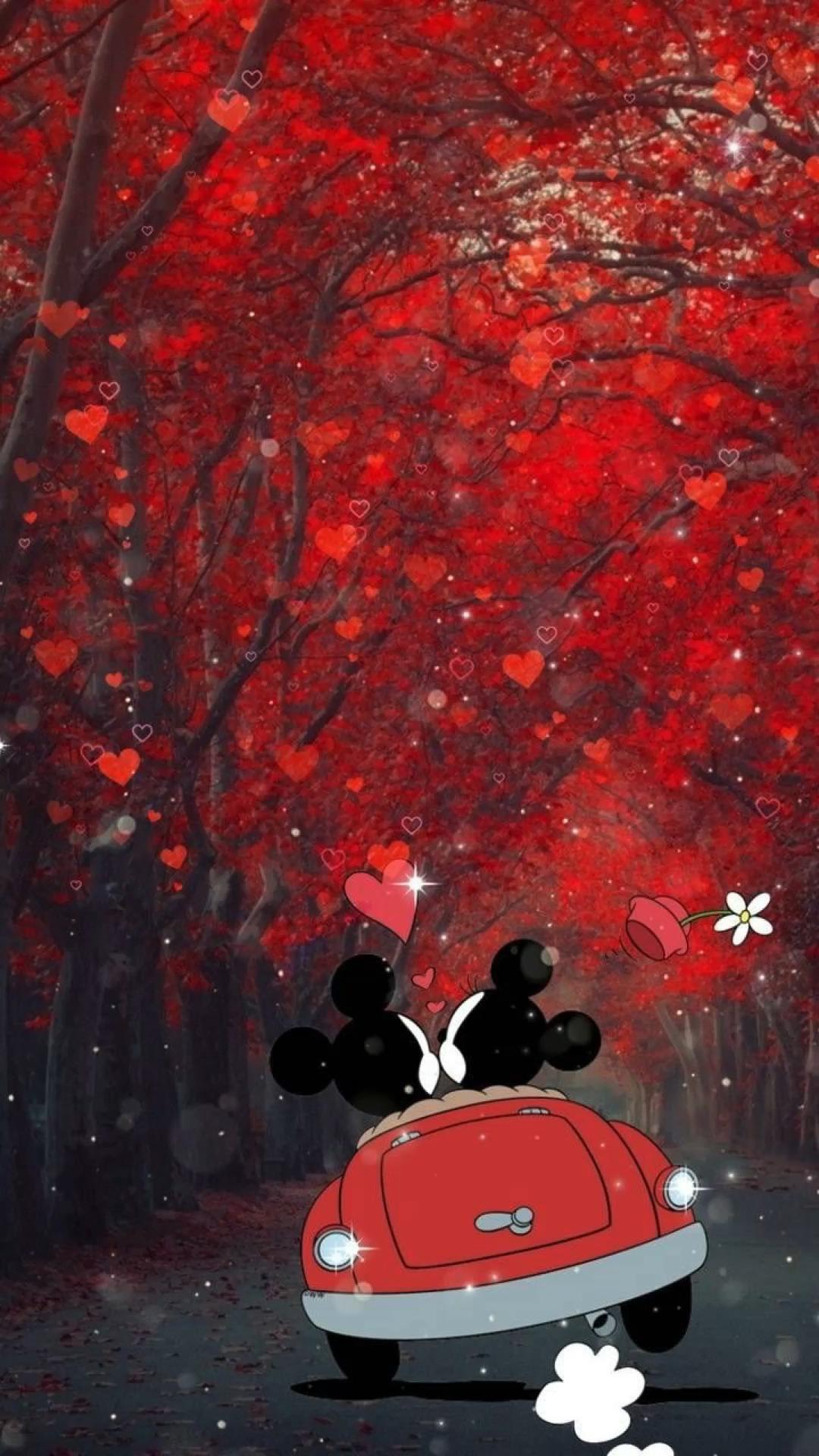 Wallpaper Disney Mickey & Minnie