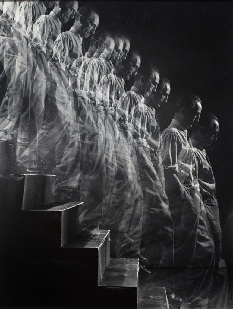 Eliot Elisofon Marcel Duchamp Descends Staircase 1952