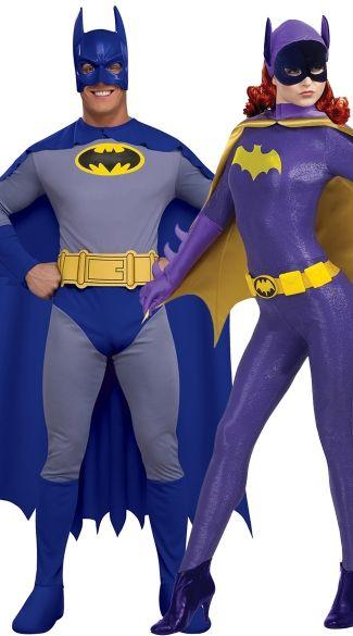 Nice Classic Batman Couples Costume