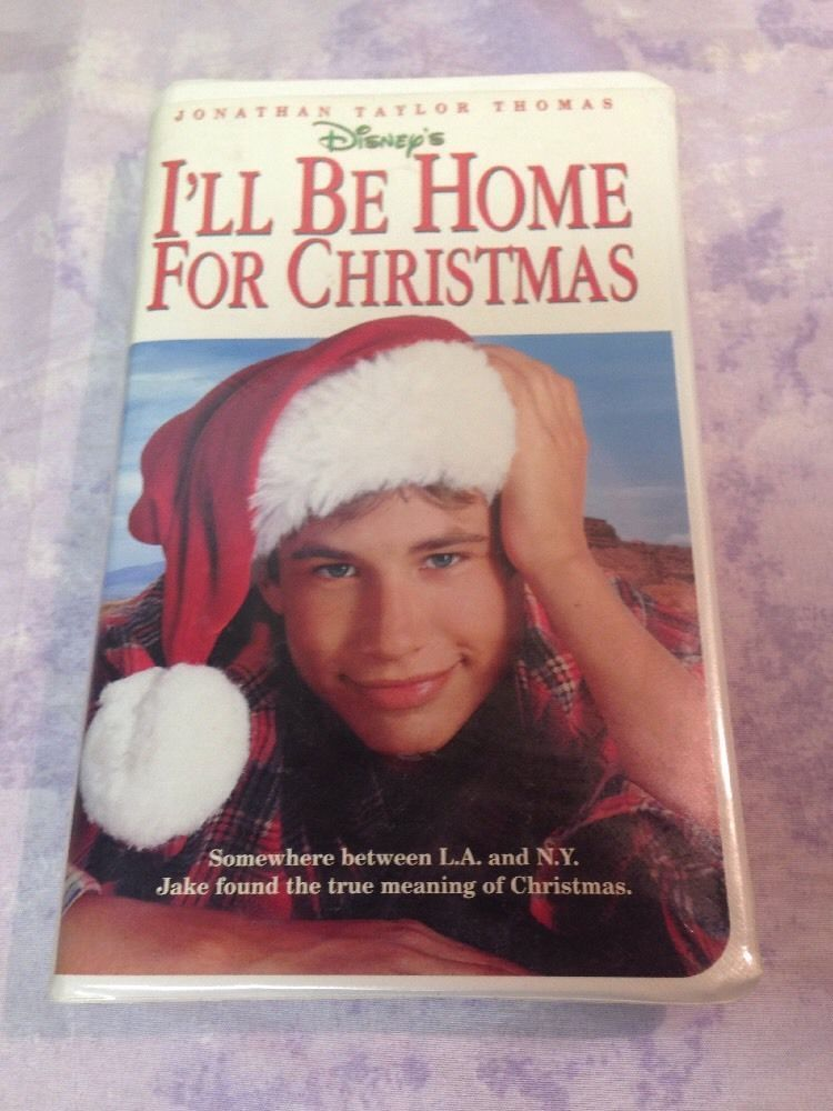 Ill Be Home For Christmas Vhs.Disney S I Ll Be Home For Christmas Vhs Tape Jonathan Taylor