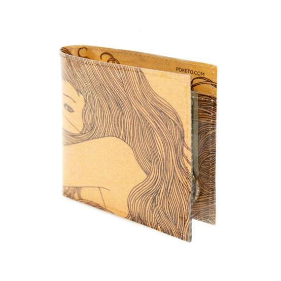 From the Aussie series, Eveline is a beautifully crafted illustration that has been incorporated in everyday accessories. The whimsical hair strokes fashioned by Eveline are what makes her designs sought after throughout Australia. This particular rustic style wallet contains 3 slots for credit cards, a bill slot for cash, and a change purse. A gorgeous everyday masterpiece that you will love to wear as much as use.