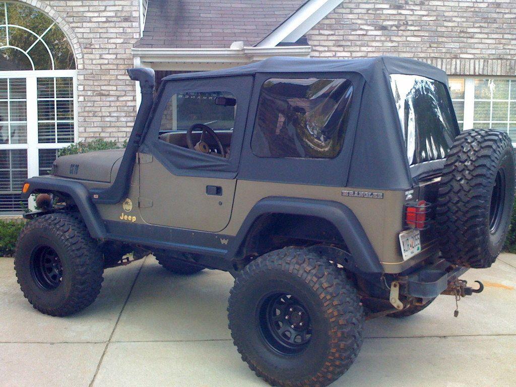 88 Jeep Wrangler Sahara jdbanjo321's 1991 Jeep YJ in