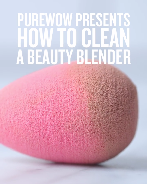 How to clean a Beauty Blender so it feels like new.
