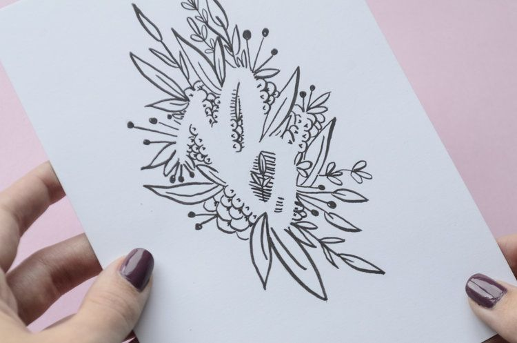 Negative Space Lettering feat. Tombow Mono Drawing Pencils Pt. 1 — KILEY IN KENTUCKY