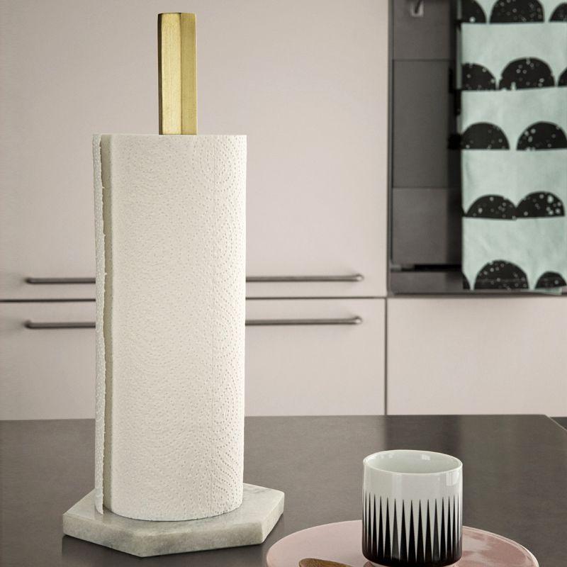 Küchenrollenhalter - Beton Kupferstange! | DIY ideas | Pinterest ...
