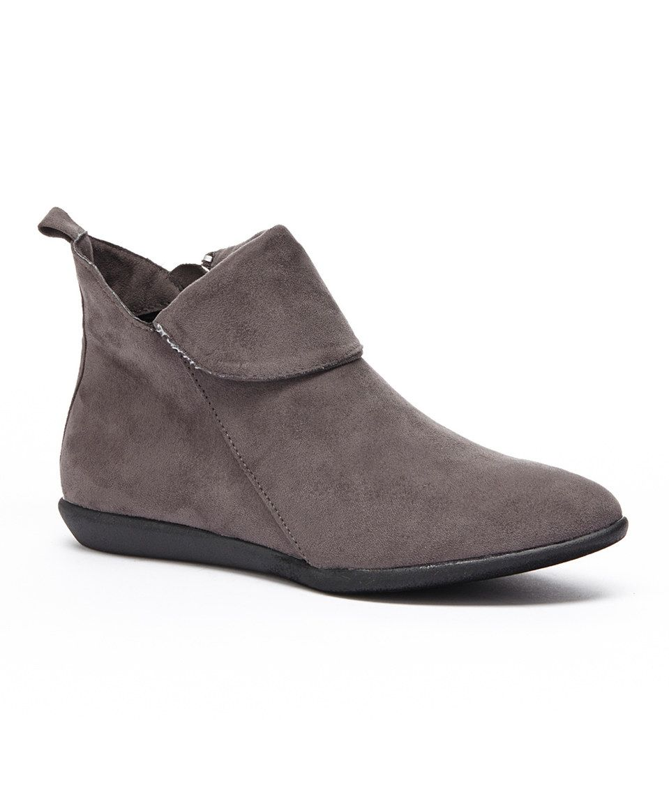 921569f03c14 Look what I found on  zulily! Gray Alannis Bootie by Serene Comfort ...