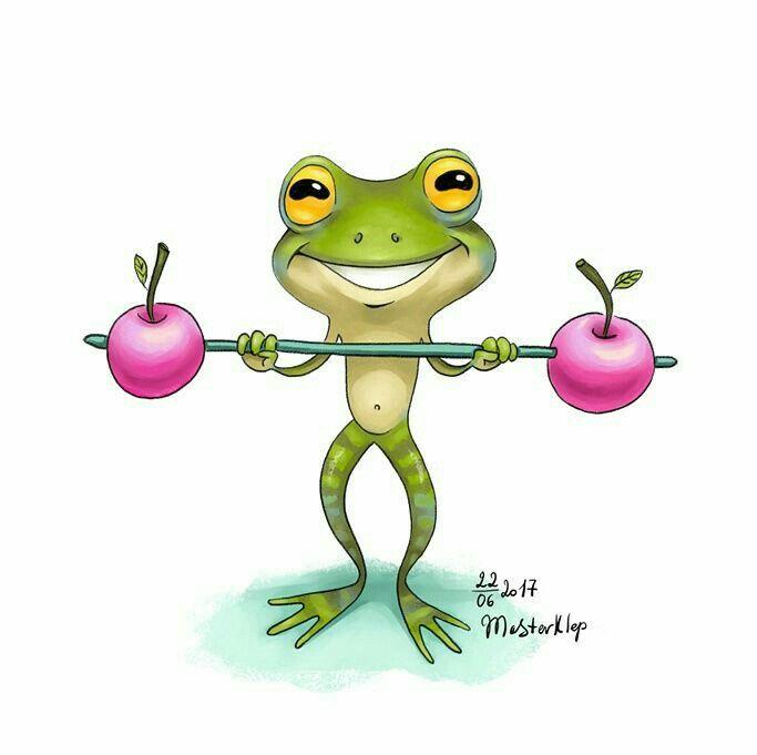 корейцев рисунок смешного лягушонка сервисы картинками