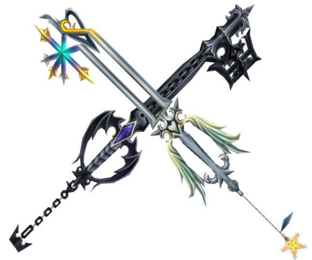 Oathkeeper Oblivion Tattoos Kingdom Hearts Tattoo Roxas