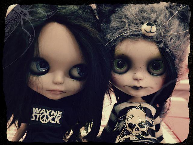 Frenchy Blythe meet: Cali & Mort by ⚓char⚓, via Flickr