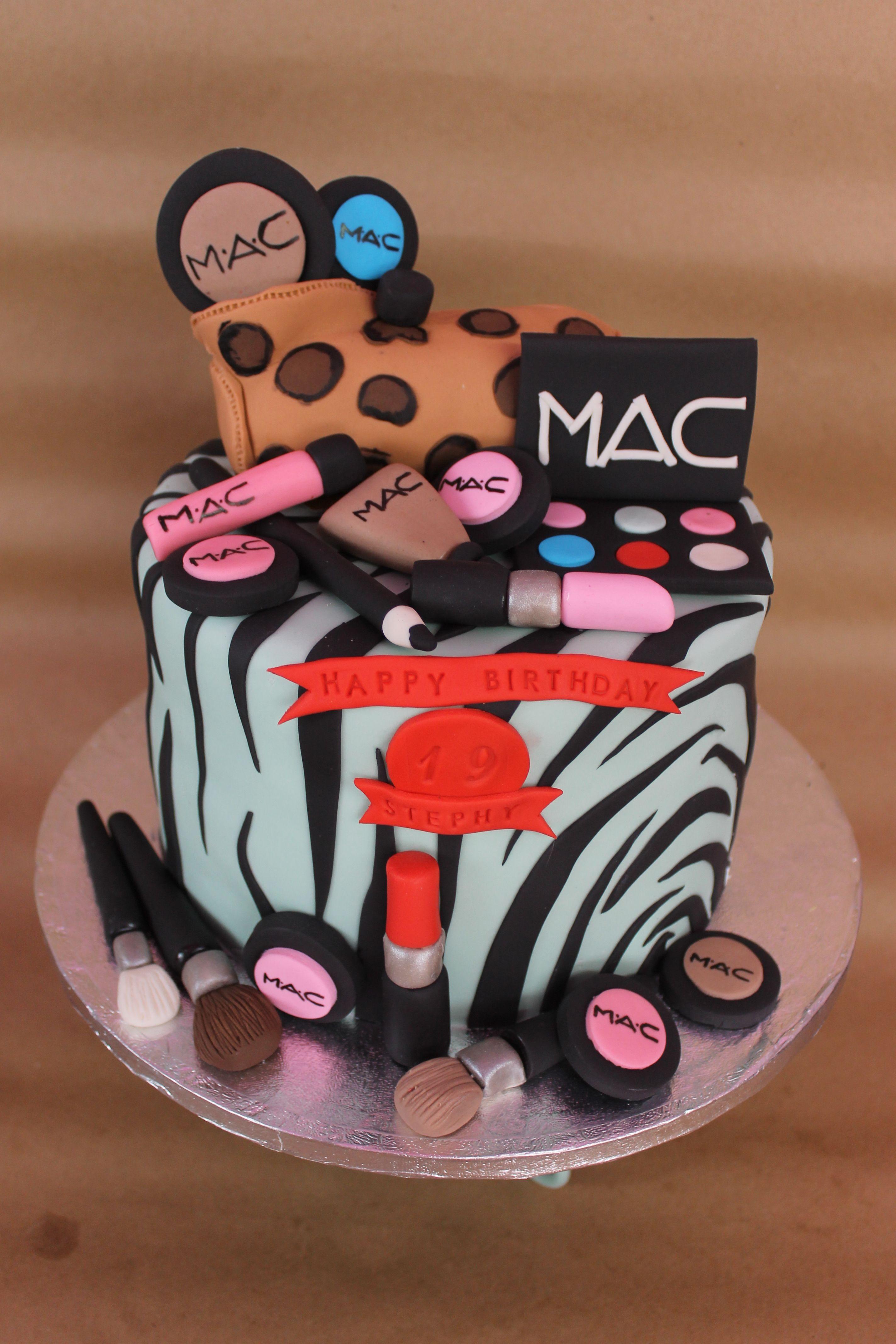 cosmetics cake MAC
