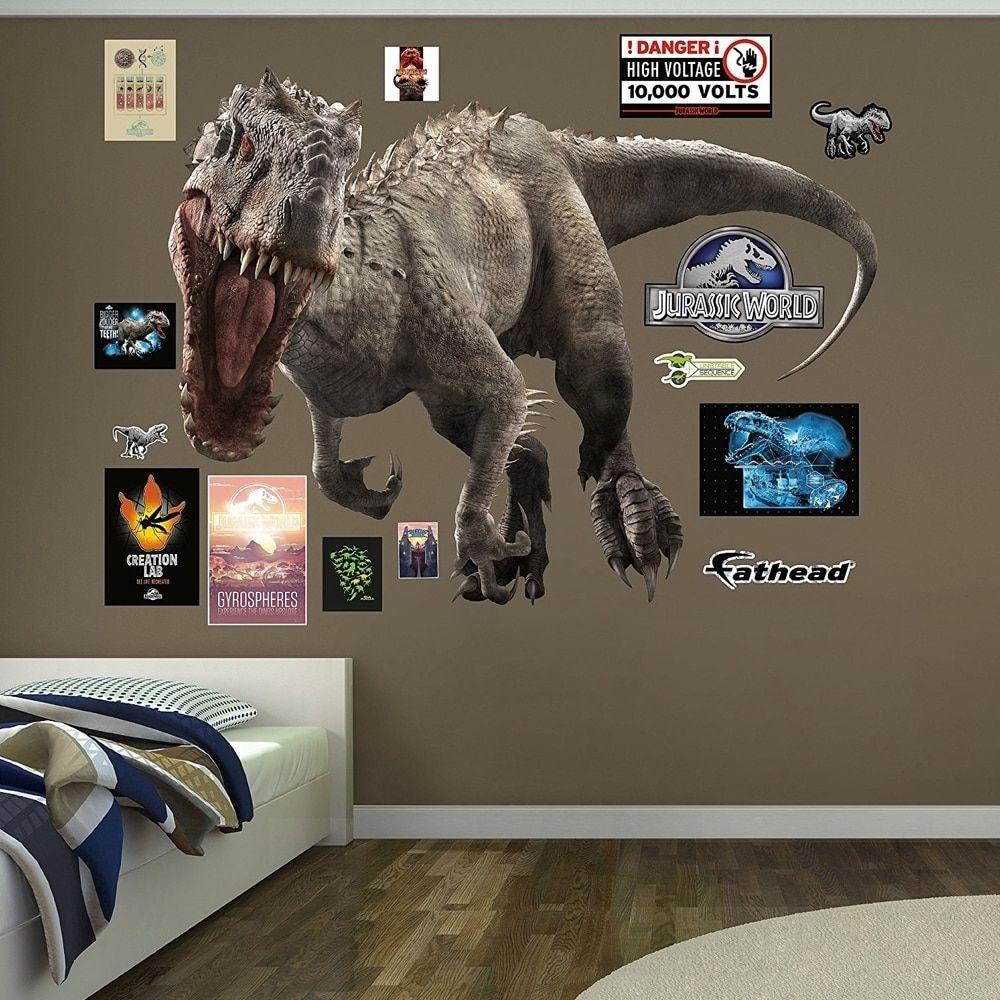 Fathead Indominus Rex Jurassic World Real Decals W X H 6 1 X 4