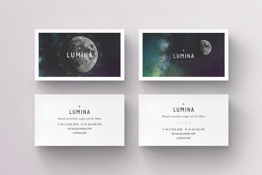 Lumina Business Card Template Business Card Template Business Card Templates Download Business Card Design
