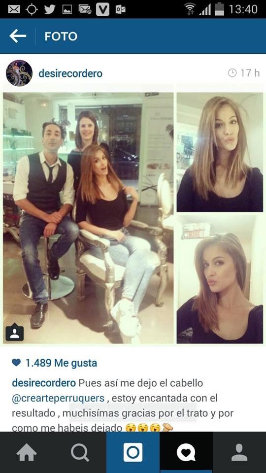 Desiré Cordero, Miss Universo, estuvo ayer en Crearte y además de cambiar su look nos dejó momentos muy agradables