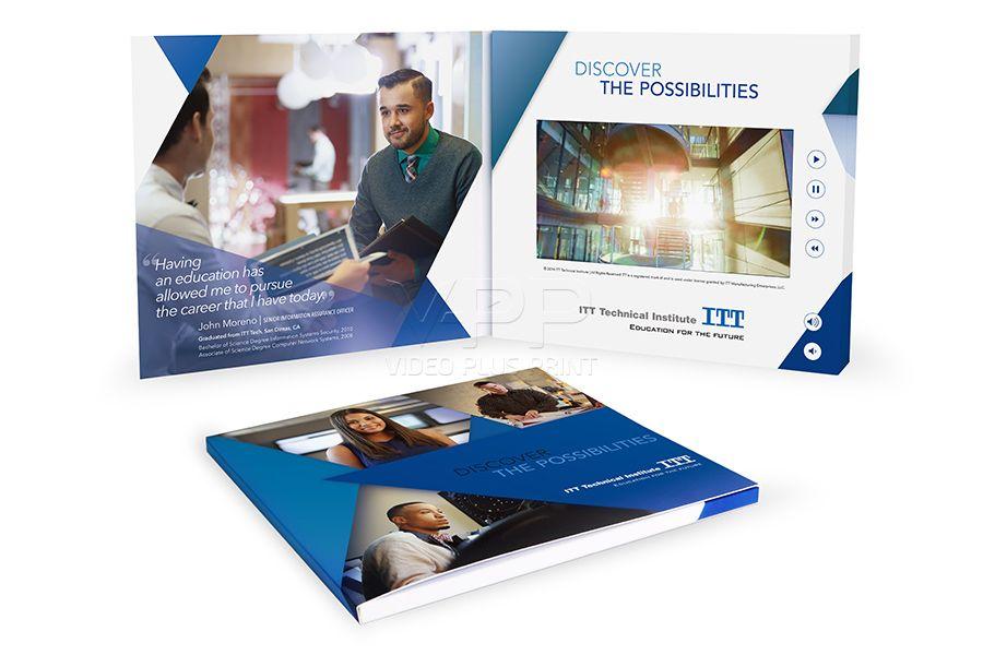 ITT Video Brochure / ITT Video Mailer that provided their direct