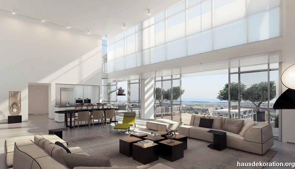 Wohnzimmer Innenarchitektur ~ Versenkbare glas türen wohnzimmer obývací pokoj
