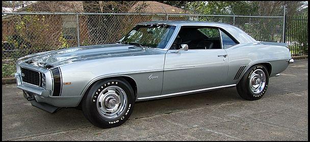 1969 Chevrolet Camaro Zl1 Replica 427 Ci 4 Speed Photo In Cortez