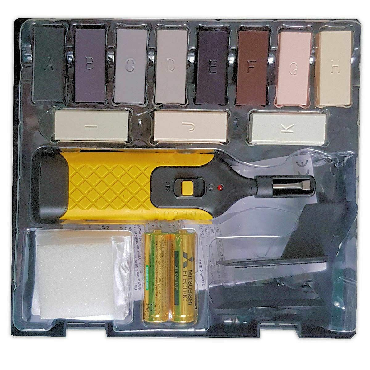 Vabiono Kunststoff Reparaturset Fur Kunststoff Oberflachen Arbeitsplatte Pvc Vinyl Linoleum In 2020 Reparatur Arbeitsplatte Linoleum