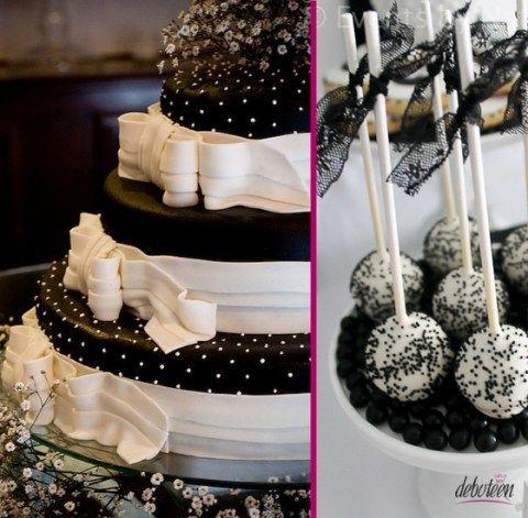 Uma combinação moderna e super estilosa, é a festa preto e branco.