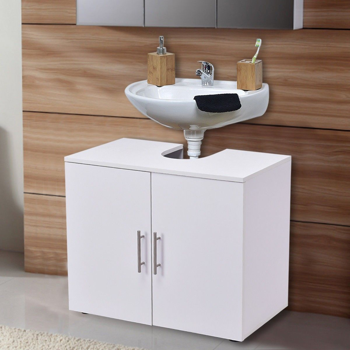 Non Pedestal Under Sink Bathroom Storage Vanity Pedestal Sink