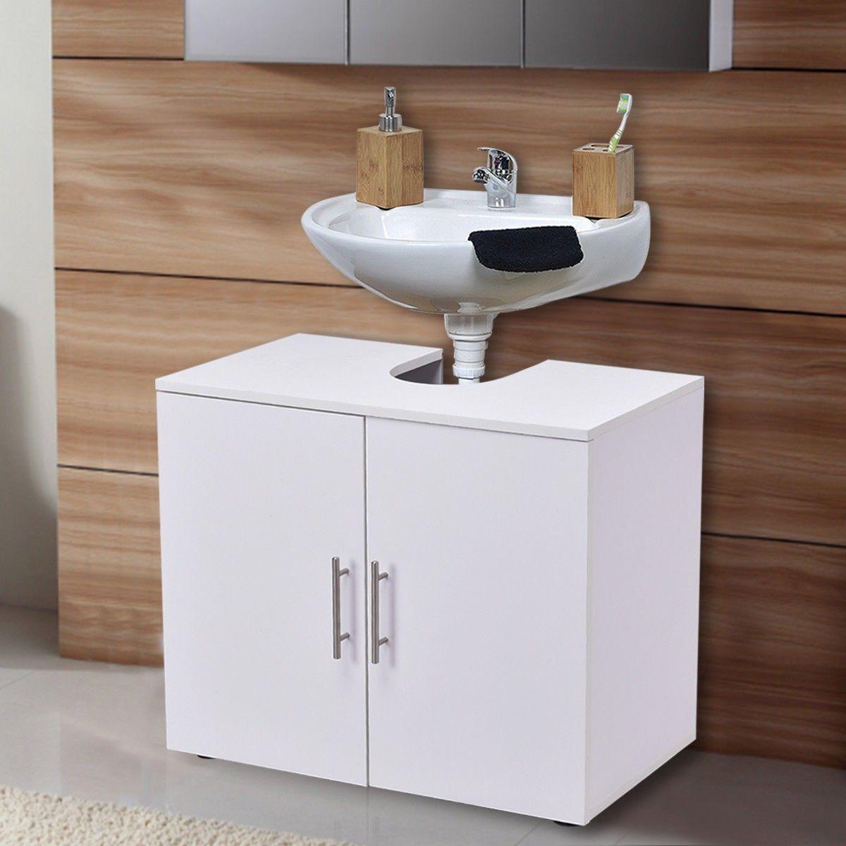 Non Pedestal Under Sink #Bathroom #Storage Vanity | Home & Garden ...