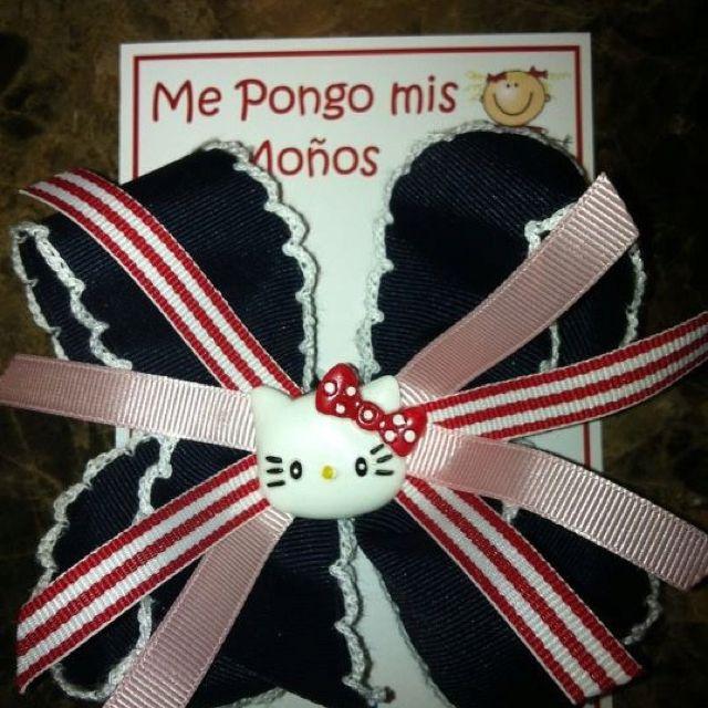 """Moños para niñas, $65.00 MXN, dale """"Me Gusta"""" a """"Me Pongo Mis Moños"""" en Facebook. Informes de Venta Mayoreo y Menudeo."""