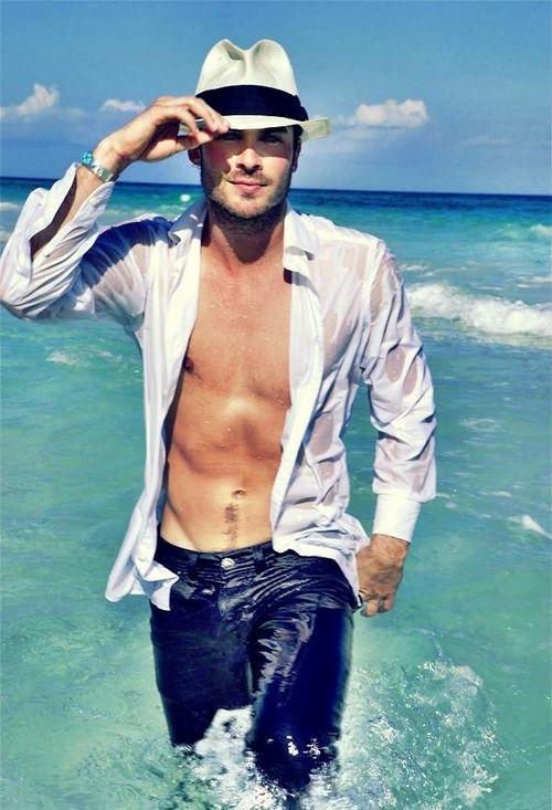 Ian Somerhalder - shirtless - abs - hot