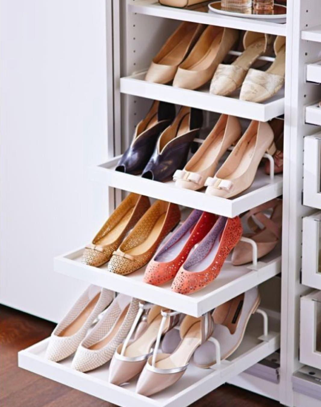 Pin on shoe storage ideas for small spaces