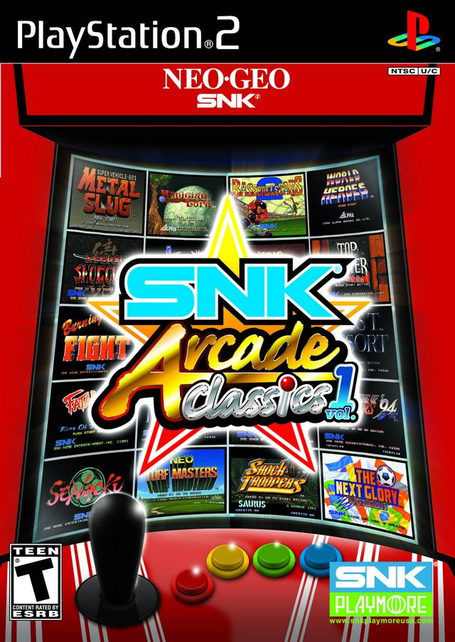 SNK Arcade Classics Volume 1 | ps2 games to get