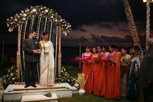 Simple yet classy! #poruwa #srilanka #kandy #wedding ...
