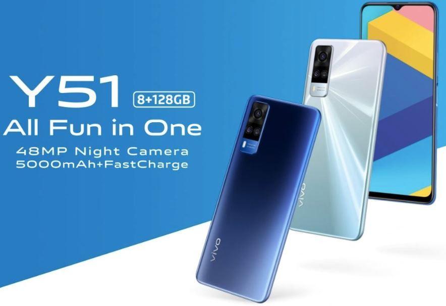 سعر ومواصفات هاتف Vivo Y51 Smartphone Price Vivo Camera