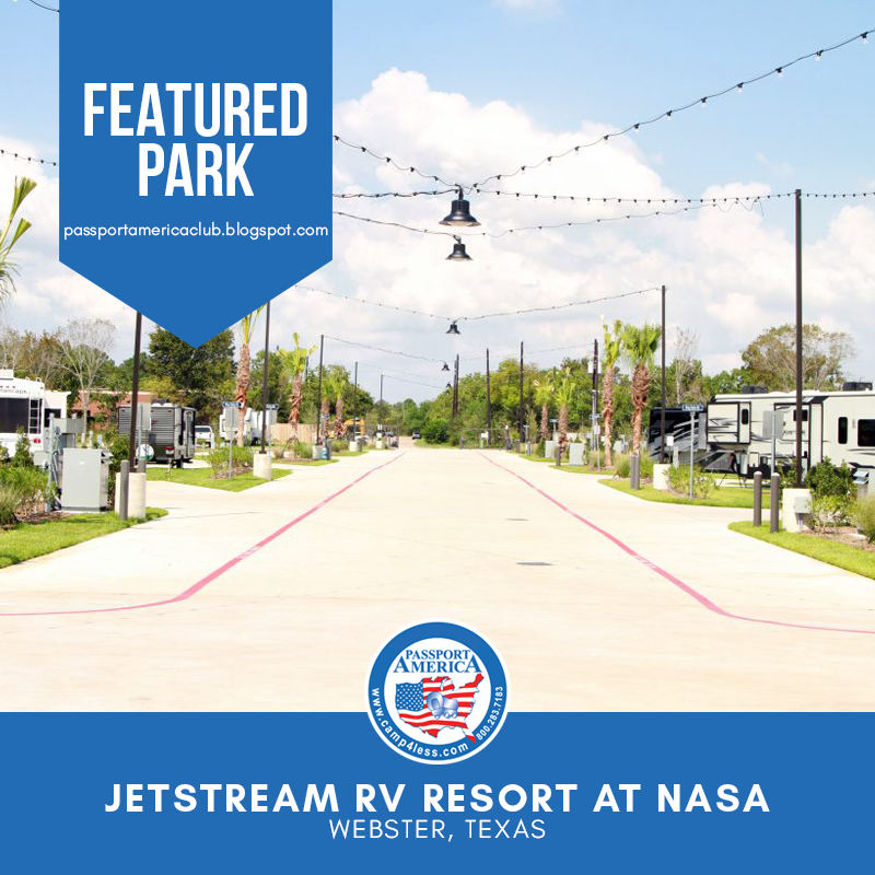 Jetstream Rv Resort At Nasa Webster Tx Is An Exciting New Rv Resort In South Houston Guests Enjoy A Trendy Environment That Fuses Supre Resort Rv Rv Parks