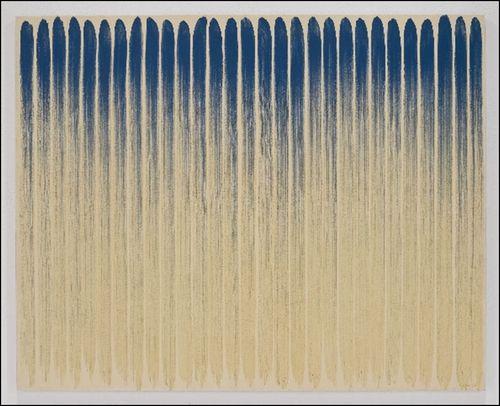 Lee Ufan. From Line. 1974